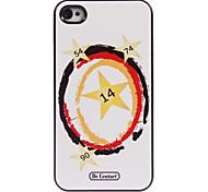 Sterne-Design-Alu-Hülle für das iPhone 4 / 4s
