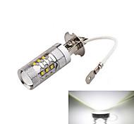 1 Stück ding yao Lichtdekoration H3 50 W 1200 LM 6000-6500 K 14 High Power LED Kühles Weiß DC 12/DC 24 V