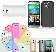 BIG D Ultra Thin Matte Back Case for HTC One M7(Assorted Color)