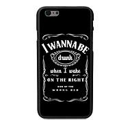 eu quero ser o caso duro projeto bêbado para iphone 6