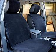 HONORV™ Short Plush Fabric Car cushion Applicable To the Five Seater(Black)