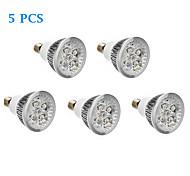 Focos LED E14 6W 500 LM Blanco Cálido / Blanco Fresco AC 100-240 V 5 piezas