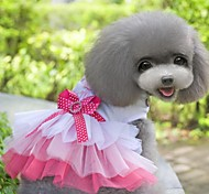 Lovable New Style Serveral Layered Princess Dress in Summer For Pets Dogs