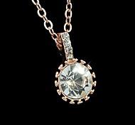 Wholesale Women Rhinestone Pendant Necklace