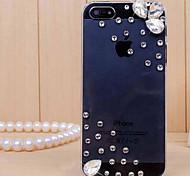 iPhone 5/5S iPhone - Per retro - per Transparente/Ultra sottile/A gocce di pioggia ( Bianco , Policarbonato )