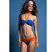 Blue And Orange To Match Fashion Swimwear