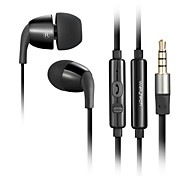 WALLYTECH W802 Earphones Wired Earbuds With Microphone for Media Player/Tablet/Mobile phones