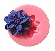 мини-цветок помады формы торта формы шоколада для кухни выпечки украшения инструмента торт