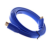 1.8 Meters HDMI Male to HDMI Male  Connector Cable  Video Transmission Environmental Protection