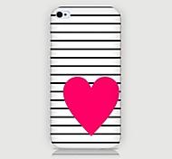 Funda Trasera - Gráficas/Diseño Especial/Innovador - para iPhone 4/4S/iPhone 4 ( Multicolor , Plástico )