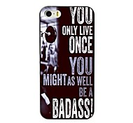 You Only Live Once Design Hard Case for iPhone 4/4S