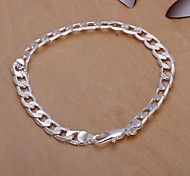 6M European Fashion 925 Silver Chain Bracelets(1Pc)