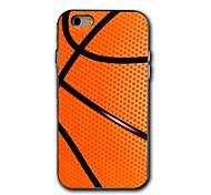 iPhone 6 Plus - Rückseiten Cover - Grafik ( Orange , Kunststoff )