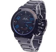 Orologio sportivo - Per uomo - Quarzo - Analogico-digitale - LED/Resistente all'acqua