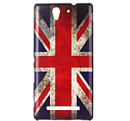 the United Kingdom Flag Pattern PC Hard Case for Sony C3