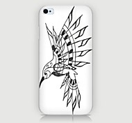 Indian Head Pattern Back Case for iPhone4/4S