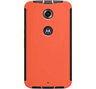 Para Funda  Motorola Antigolpes Funda Cubierta Trasera Funda Un Color Dura Policarbonato Motorola