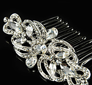 Vintage Wedding Party Bridal Bridesmaid Crystal Bridal Hair Comb