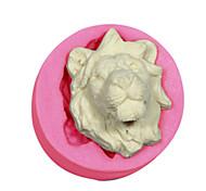 торт украшения львы формы силиконовые Lions Head-форма для помадные конфеты ремесел украшения шоколада PMC смолы глины