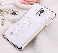 Samsung Handy - Samsung Galaxy Note 4 - Rückseitige Hülle - Spezielles Design ( Blau/Purpur/Gold/Silber , Plastik )