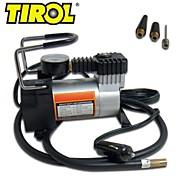 Tirol 12v auto elétrica bomba portátil pesados ferramenta compressor de ar do pneu inflator 140 psi