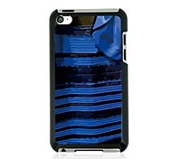 The Blue and Black Dress Design Metal Case for iPod touch 4