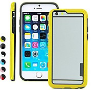 BIG D Double Color Fashion Bumper for iPhone 6 (Assorted Color)