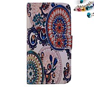 Faceplate Pattern PU leather Full Body Case Dustproof Plug With Card Slot and Stand for Motorola G2