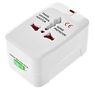 All-in-one Universal World Charger Plug Home Travel AC Power Adapter Converter to US/UK/AU/EU