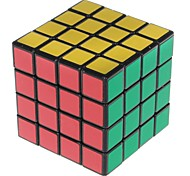 4x4x4 Spring Magic Rubik's Cube Puzzle Toy - Black Base