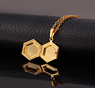 Golden Lockets Necklaces Wedding Jewelry