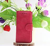iPhone 5/iPhone 5S - Hüllen (Full Body) - Volltonfarbe/Spezial-Design ( Schwarz/Grün/Purpur/Rosenfarben/Khaki/Orange , Echtleder/TPU )