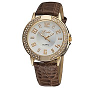Women's Charm watch Quartz Analog Vintage PU Leather Casual Students