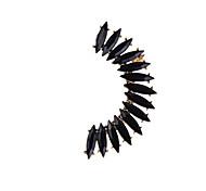 Fashion Women Horse Eye Resin Stone Set Ear Cuff