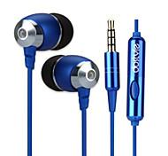 dostyle hs302 наушники с микрофоном стерео бас в ухо наушник гарнитуры высокого качества для iPhone 6 / 6plus (золото)