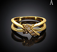 Rose Gold Plated Ring 18K Gold Plated Ring Platinum Plated Ring Midi Rings Wedding/Party/Daily/Casual/Sports 1pc