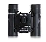 Qanliiy® 20X22 mm Binoculars Generic Carrying Case High Definition Spotting Scope Waterproof Night Vision BAK4 Fully Multi-coatedNormal