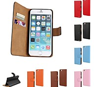 Kemile Genuine Leather Wallet Case for iPhone 6  (Assorted Colors)
