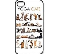 iPhone 6 - Rückseiten Cover - Tier ( Weiß , Kunststoff )