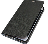 Vertical Stripes Leather Case with Card Slot for iPhone 6