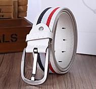 Unisex PU Waist Belt , Casual Alloy