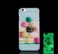 Food Pattern Glow in the Dark Hard Case for iPhone 6 Plus