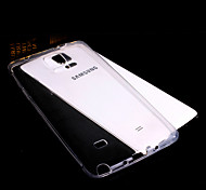 Solid Color Transparent Ultra Slim TPU for Samsung Galaxy NOTE 4