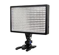 alta qualidade gravação de vídeo levou luz levou-336A para a câmera filmadora dv + bateria F770
