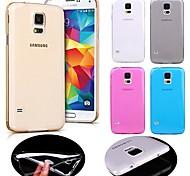 Teléfono Móvil Samsung - Cobertor Posterior - Color Sólido - para Samsung Galaxy Mini S5 ( Negro/Blanco/Azul/Rosa/Dorado , TPU )