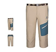 Outdoors Men's Summer Polyester Spandex Blue Khaki and Army Green Colors Quick-drying Pants