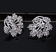 European Style New Leaves Fashion Earrings