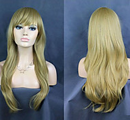 Europe And America Face New And Fresh And Lovely Light Golden Wig Repair