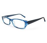 [Lenti liberi] acetato rettangolo pieno-orlo occhiali da vista della moda
