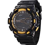 Relógio Esportivo (LED/Calendário/Resistente à Água) - Analógico-Digital